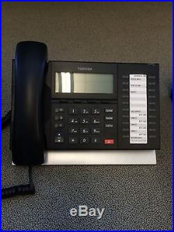 Toshiba Strata CIX40 with 5 Toshiba DP Phones (Includes Accessories)