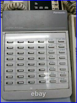 Toshiba Strata XIIe Business Phone system with 10 Phones and Brain