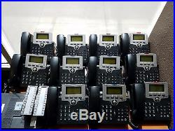 XBlue PBX Phone System, 11 Phones, 4 Sidecars, 1 Router Perfect for Sm Office